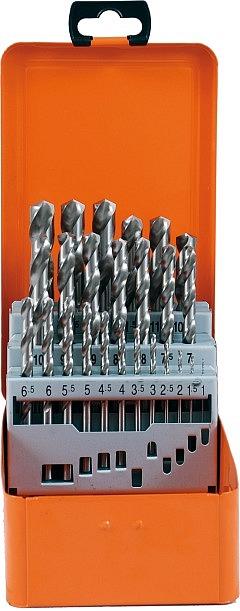 Bohrerkassette HSS-G 25tlg 1-13/0,5 mm ECO